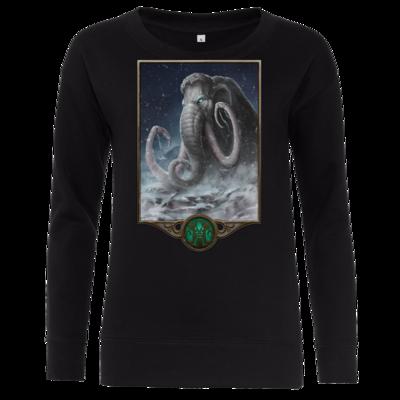 Motiv: Girlie Crew Sweatshirt - Götter - Natûru-Gon