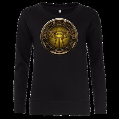 Motiv: Girlie Crew Sweatshirt - Götter Siegel - Praios