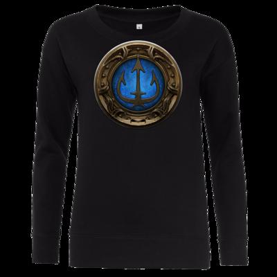 Motiv: Girlie Crew Sweatshirt - Götter Siegel - Efferd