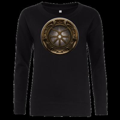 Motiv: Girlie Crew Sweatshirt - Götter Siegel - Boron