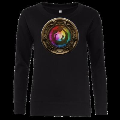 Motiv: Girlie Crew Sweatshirt - Götter Siegel - Tsa