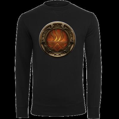 Motiv: Light Crew Sweatshirt - Götter Siegel - Angrosch