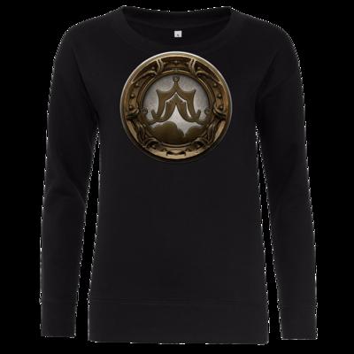 Motiv: Girlie Crew Sweatshirt - Götter Siegel - Raschtullah