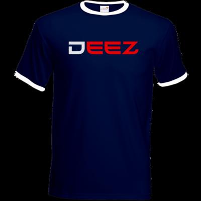 Motiv: T-Shirt Ringer - DeeZ Red