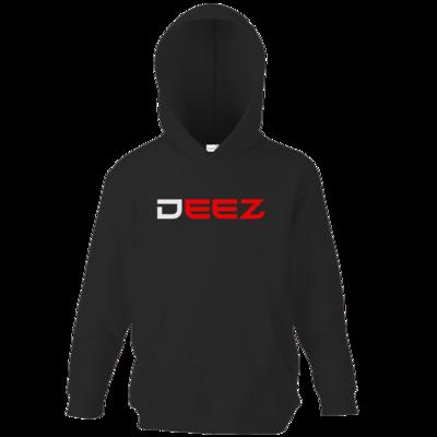 Motiv: Kids Hooded Sweat - DeeZ Red