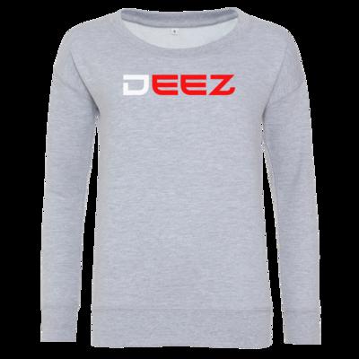 Motiv: Girlie Crew Sweatshirt - DeeZ Red
