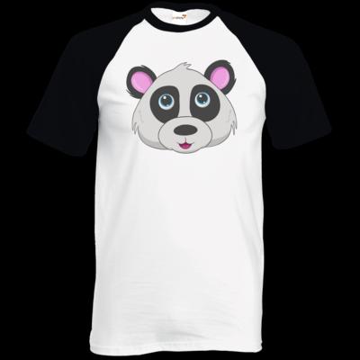 Motiv: TShirt Baseball - Panda