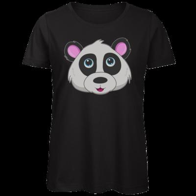 Motiv: Organic Lady T-Shirt - Panda