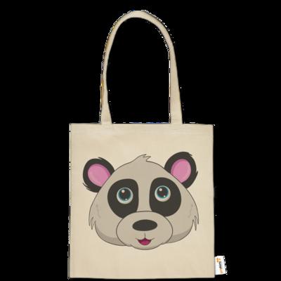 Motiv: Baumwolltasche - Panda