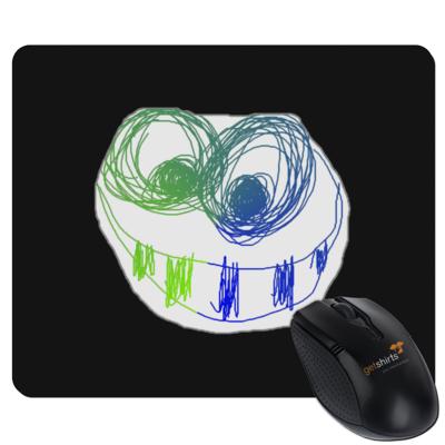 Motiv: Mousepad Textil - Pride-Fratze