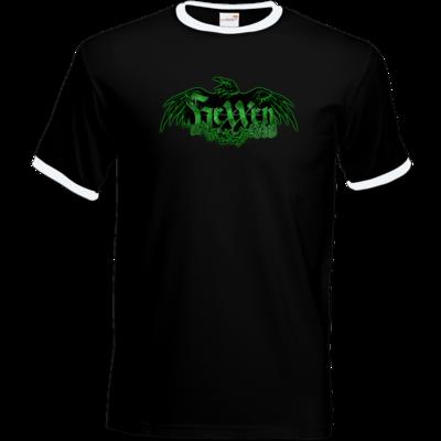 Motiv: T-Shirt Ringer - Logo - HeXXen
