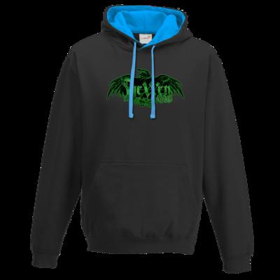 Motiv: Two-Tone Hoodie - Logo - HeXXen