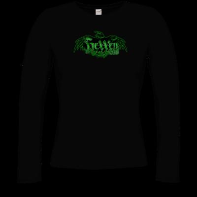 Motiv: Longsleeve Damen Organic - Logo - HeXXen