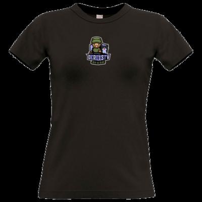 Motiv: T-Shirt Damen Premium FAIR WEAR - DeroxsTV Logo