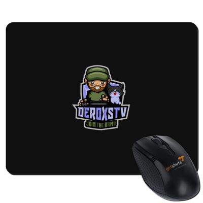 Motiv: Mousepad Textil - DeroxsTV Logo