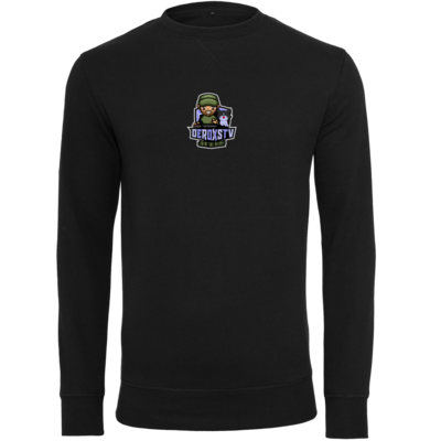 Motiv: Light Crew Sweatshirt - DeroxsTV Logo