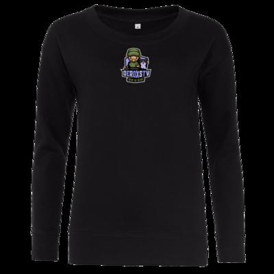 Motiv: Girlie Crew Sweatshirt - DeroxsTV Logo