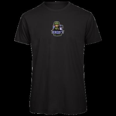 Motiv: Organic T-Shirt - DeroxsTV Logo