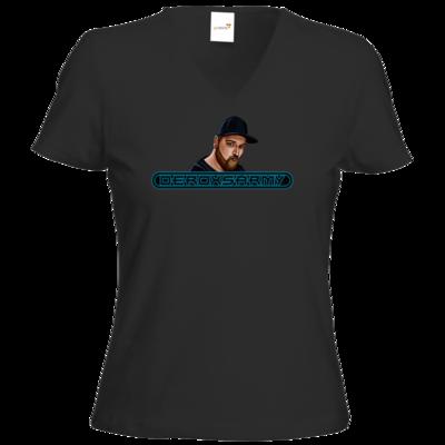 Motiv: T-Shirt Damen V-Neck Classic - DeroxsArmyPortrait
