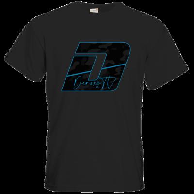 Motiv: T-Shirt Premium FAIR WEAR - Deroxs Camouflage Logo