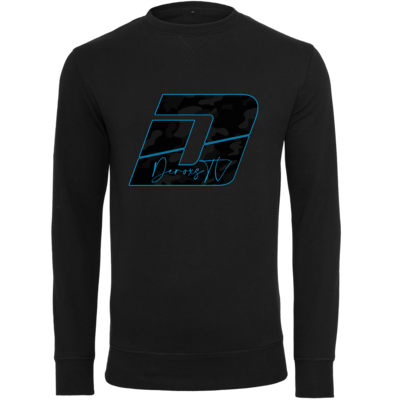 Motiv: Light Crew Sweatshirt - Deroxs Camouflage Logo