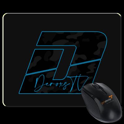 Motiv: Mousepad Textil - Deroxs Camouflage Logo