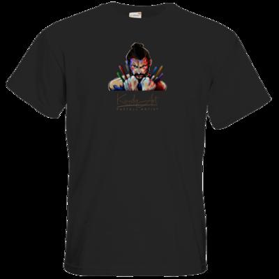 Motiv: T-Shirt Premium FAIR WEAR - Pastellkreide