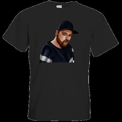 Motiv: T-Shirt Premium FAIR WEAR - Deroxs Porträt