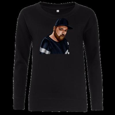 Motiv: Girlie Crew Sweatshirt - Deroxs Porträt