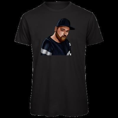 Motiv: Organic T-Shirt - Deroxs Porträt