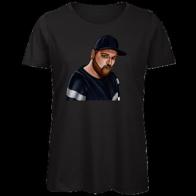 Motiv: Organic Lady T-Shirt - Deroxs Porträt