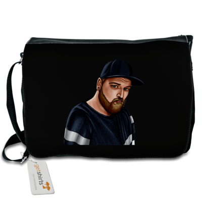 Motiv: Schultertasche - Deroxs Porträt