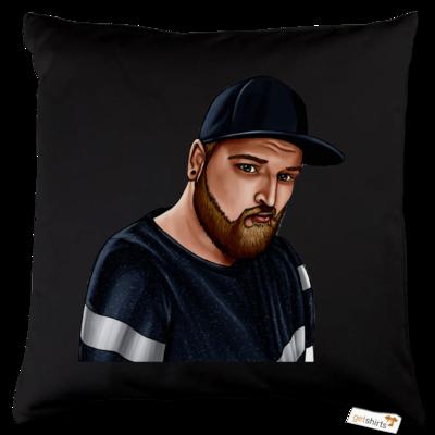 Motiv: Kissen Baumwolle - Deroxs Porträt