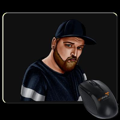 Motiv: Mousepad Textil - Deroxs Porträt