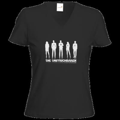 Motiv: T-Shirts Damen V-Neck FAIR WEAR - die Unstrichbaren