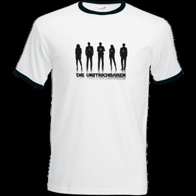 Motiv: T-Shirt Ringer - die Unstrichbaren