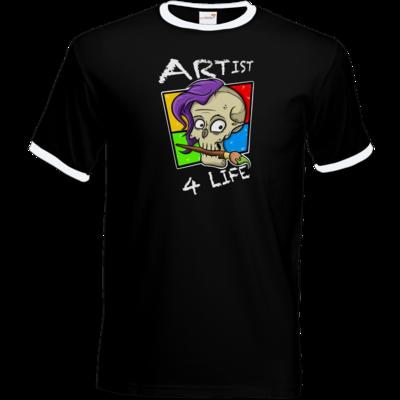 Motiv: T-Shirt Ringer - Artist4life