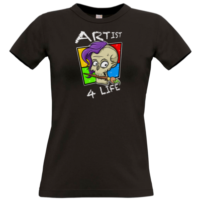 Motiv: T-Shirt Damen Premium FAIR WEAR - Artist4life