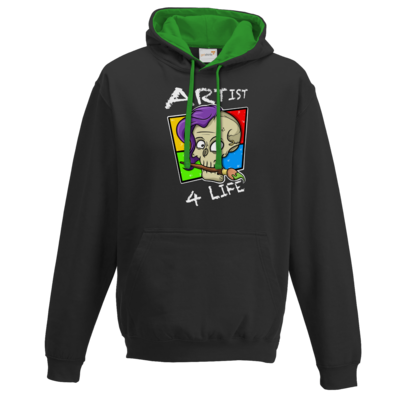 Motiv: Two-Tone Hoodie - Artist4life