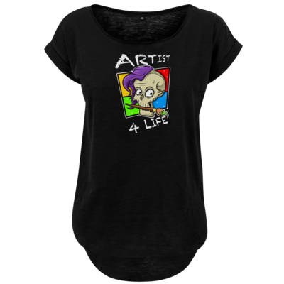 Motiv: Ladies Long Slub Tee - Artist4life