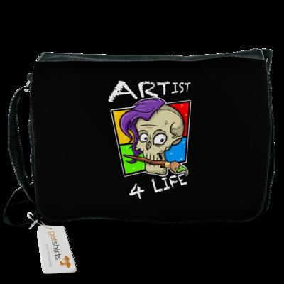 Motiv: Schultertasche - Artist4life