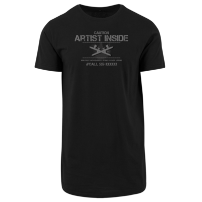 Motiv: Shaped Long Tee - artistinside