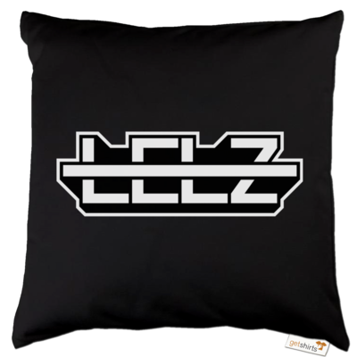 Motiv: Kissen Baumwolle - Lelz Logo
