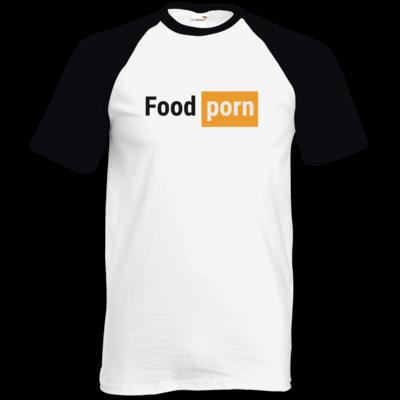 Motiv: TShirt Baseball - Foodporn