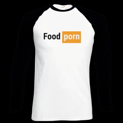 Motiv: Longsleeve Baseball T - Foodporn