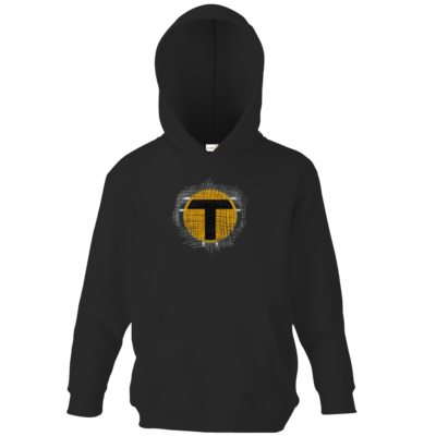 Motiv: Kids Hooded Sweat - Tomtrax Logo