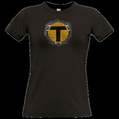 Motiv: T-Shirt Damen Premium FAIR WEAR - Tomtrax Logo