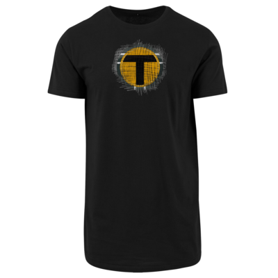 Motiv: Shaped Long Tee - Tomtrax Logo