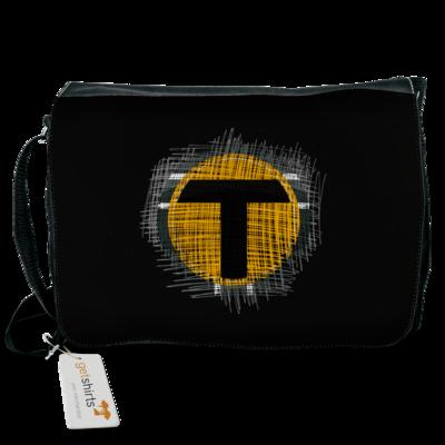 Motiv: Schultertasche - Tomtrax Logo