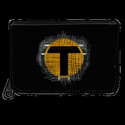 Motiv: Geldboerse - Tomtrax Logo